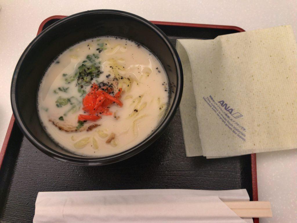 ANAスイートラウンジ食事006