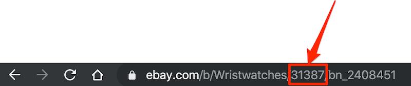 ebay輸出でのeBayカテゴリーIDカテゴリーナンバーを調べる方法005